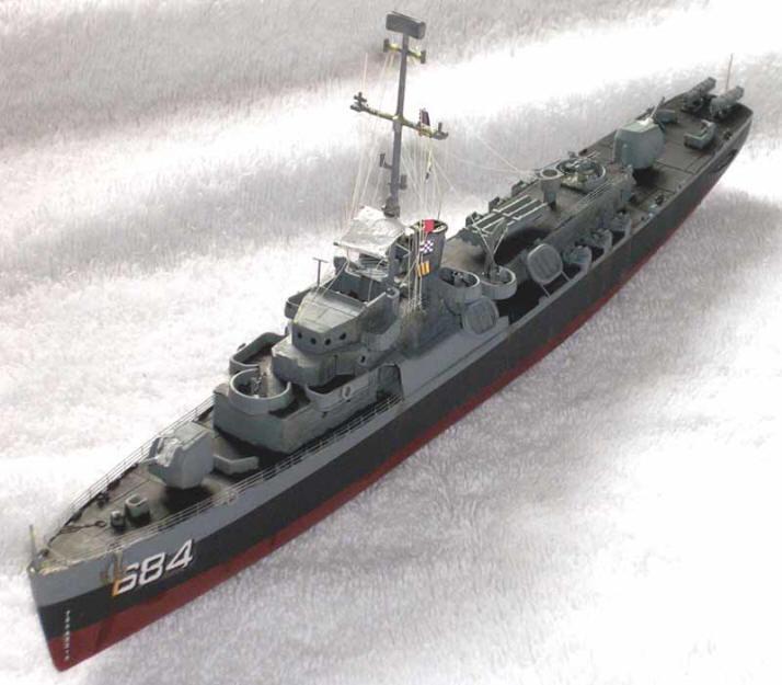 Sd model makers destroyer escort models dealey class destroyer escort models
