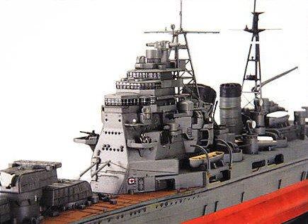IJN Chokai 1/350 scale model shi