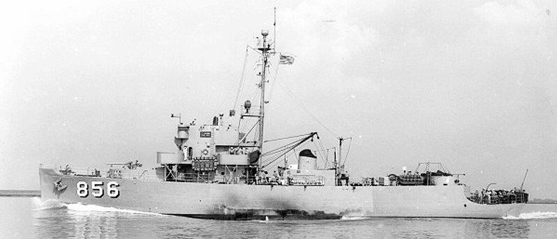 USS Whitehall PCE-856 Patrol Cra