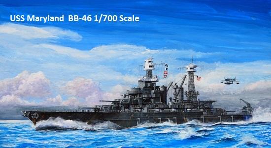 Bb 46 Uss Maryland 1941 Battlesh