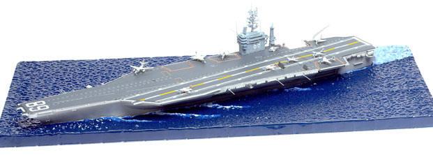 Uss John C.stennis Cvn-74 Aircraft Carrier 1:700 Plastic Model Kit TRUMPETER