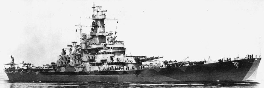 Battleship Model Kit - USS Massachusetts 1/350