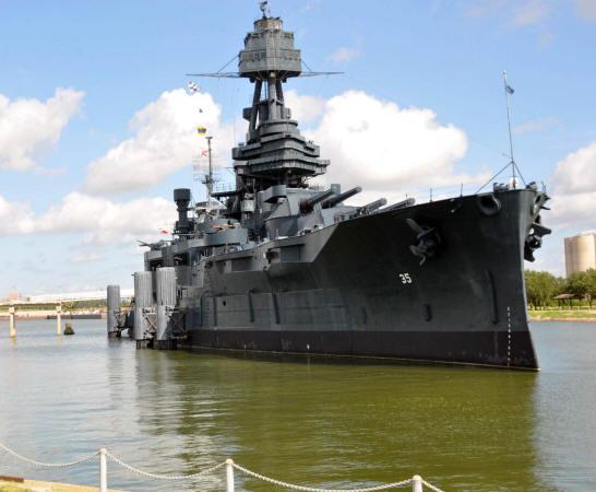 Battleship Model Kit - BB-35 USS Texas 1/350 Scale
