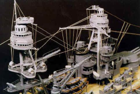 Battleship Model Kit - USS Arizona BB-39 1/426 Scale