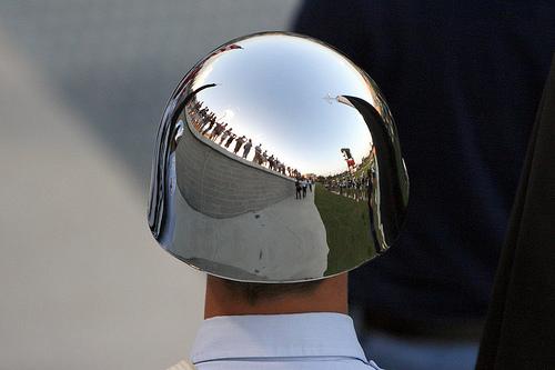 Honor Guard Helmets, White or Chrome