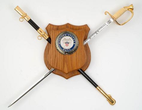 Sword Shield Display Oak